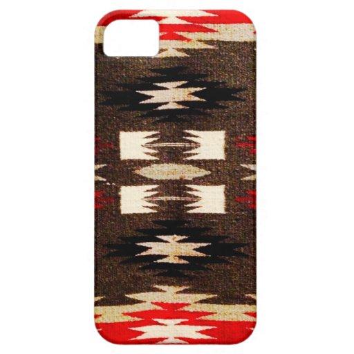 Impresión tribal del diseño de Navajo del nativo a iPhone 5 Case-Mate Protectores