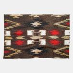Impresión tribal del diseño de Navajo del nativo a Toalla De Cocina