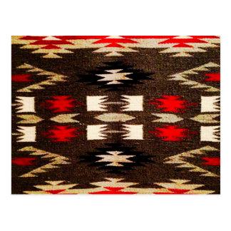 Impresión tribal del diseño de Navajo del nativo Tarjeta Postal