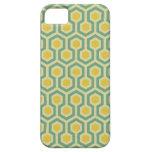 Impresión tribal geométrica del modelo del panal m iPhone 5 Case-Mate cárcasas