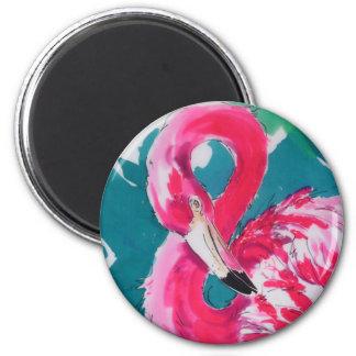 Impresión tropical del arte del pájaro    magnífic imanes de nevera