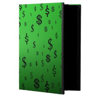 Impresión verde de la muestra de dólar