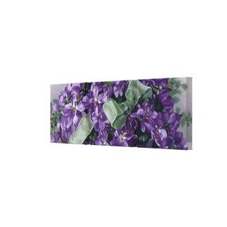 Impresión verde violeta de la lona del arco de la  impresión en lona estirada