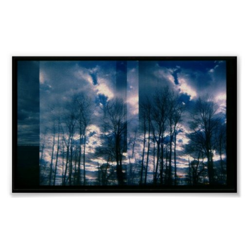 Impresión vibrante del cielo impresiones