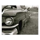 Impresión vieja de Cadillac Fotografía