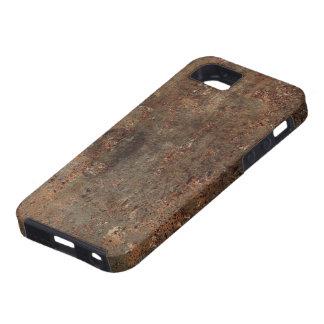 Impresión vieja de la imitación de cuero iPhone 5 carcasa