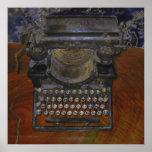 Impresión vieja de la tabla de Brown de la máquina Impresiones