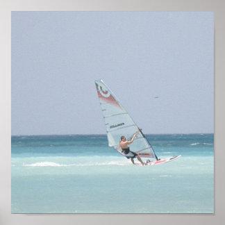 Impresión Windsurfing Poster