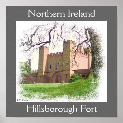 Impresión y poster del fuerte de Hillsborough