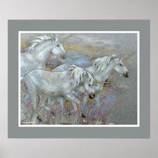 IMPRESIÓN - yeguas del unicornio tres Impresiones