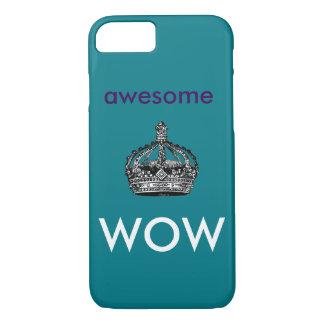 Impresionante, caja del teléfono del wow funda iPhone 7