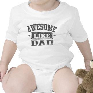 Impresionante como papá trajes de bebé