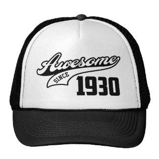 Impresionante desde 1930 gorra