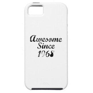 Impresionante desde 1968. iPhone 5 funda