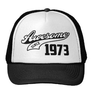 Impresionante desde 1973 gorras de camionero