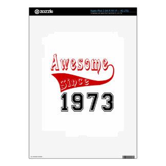 Impresionante desde 1973 iPad 3 pegatina skin