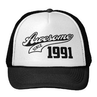 Impresionante desde 1991 gorras