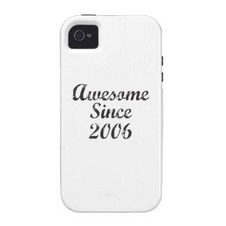 Impresionante desde 2006 iPhone 4 funda
