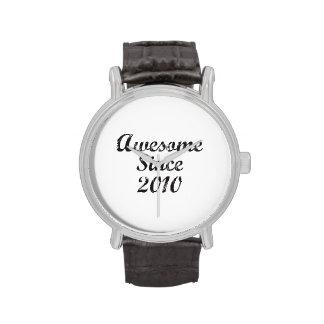 Impresionante desde 2010 relojes de mano