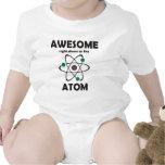 Impresionante hasta el átomo camisetas