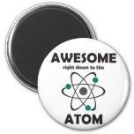 Impresionante hasta el átomo imán