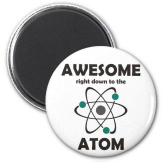 Impresionante hasta el átomo imán redondo 5 cm