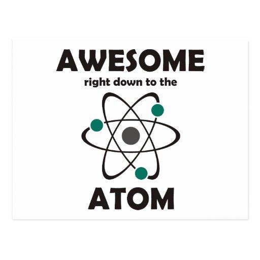 Impresionante hasta el átomo postal