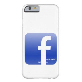 Impresionante hilarante frustrada del logotipo de funda para iPhone 6 barely there