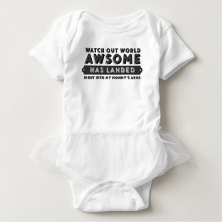 IMPRESIONANTE lindo ha aterrizado Body Para Bebé