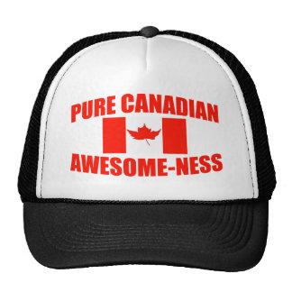 Impresionante-ness canadiense puro gorra
