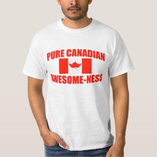 Impresionante-ness canadiense puro playera