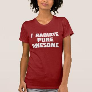 Impresionante puro camisetas