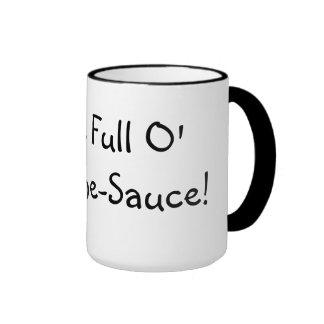 ¡Impresionante-Salsa llena de O de la cuña! Taza