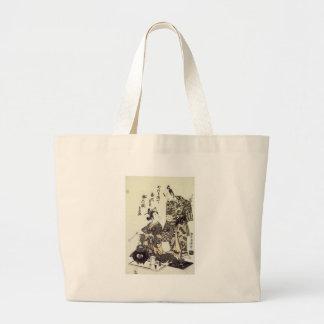 Impresiones 1755 del arte de Yamashita y de Nakaur Bolsa