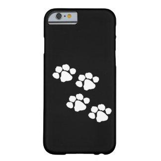 Impresiones animales de la pata funda de iPhone 6 barely there