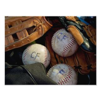 """IMPRESIONES - """"béisbol en la bifurcación de Clark  Fotografía"""