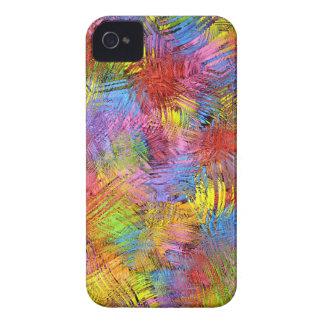 Impresiones coloridas del extracto del verano carcasa para iPhone 4