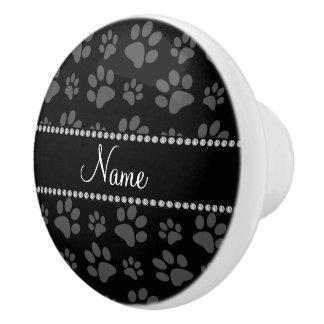 Impresiones conocidas personalizadas de la pata pomo de cerámica