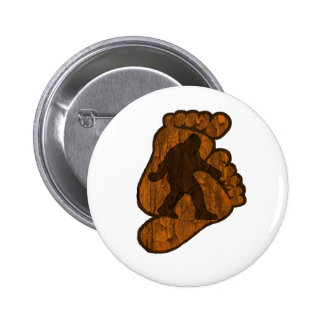 Impresiones de Bigfoot Pin