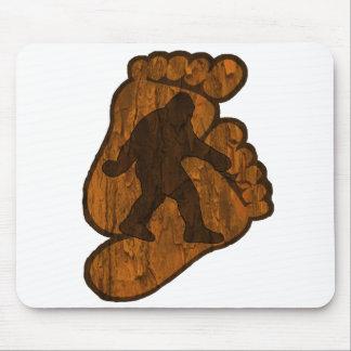 Impresiones de Bigfoot Alfombrilla De Raton