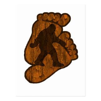 Impresiones de Bigfoot Tarjetas Postales