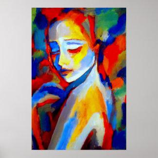 Impresiones de la bella arte a las pinturas hermos