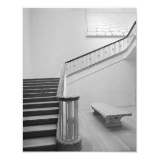 Impresiones de la foto de las escaleras de cojinete