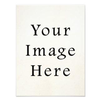 Impresiones de la fotografía de la plantilla de la cojinete