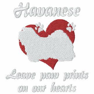 Impresiones de la pata de la licencia de Havanese