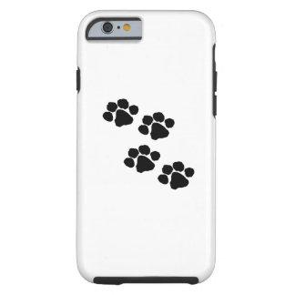 Impresiones de la pata para los dueños del mascota funda para iPhone 6 tough