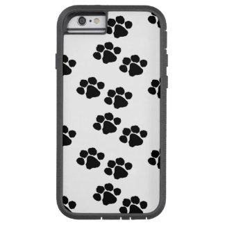 Impresiones de la pata para los dueños del mascota funda para  iPhone 6 tough xtreme