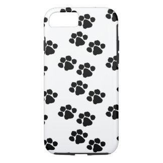 Impresiones de la pata para los dueños del mascota funda iPhone 7