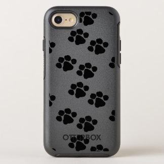 Impresiones de la pata para los dueños del mascota funda OtterBox symmetry para iPhone 7