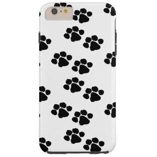 Impresiones de la pata para los dueños del mascota funda resistente iPhone 6 plus